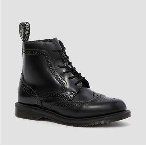 EUC Dr Martens Delphine Boot Brogue Size 8/39